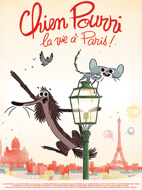 CHIEN POURRI LA VIE A PARIS!